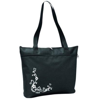 Bolsa Pasta Tote Bag LS Bolsas com alças de ombro e bolso frontal - Feminino