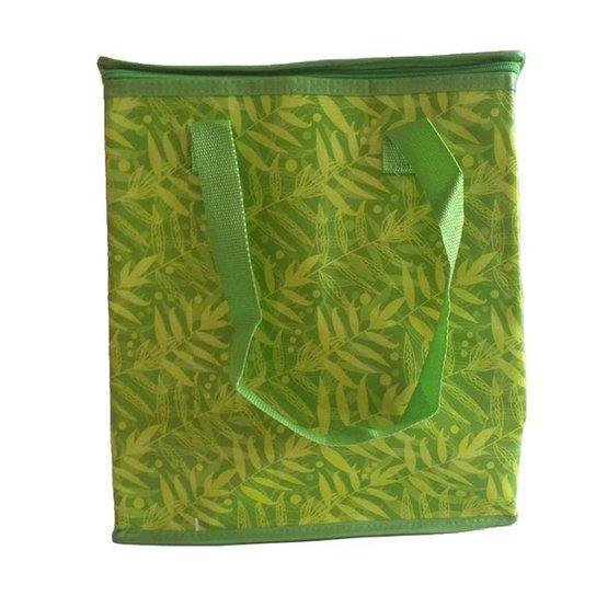 Bolsa Sacola Térmica Reutilizável Com Alça - Verde