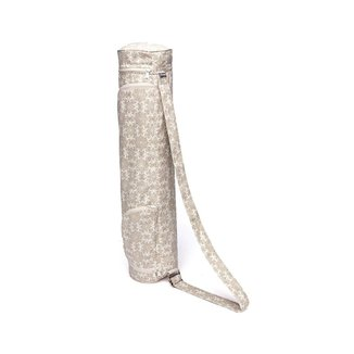 Bolsa Tapete de Yoga Porta Mat Estampado Maharaja, com bolsos e comportamentos , alça justável