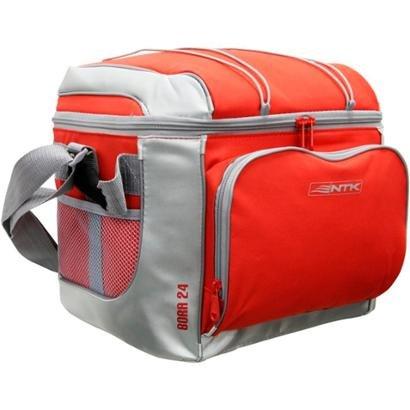 Bolsa Térmica Cooler Bora Nautika Vermelha 24 Latas - Unissex