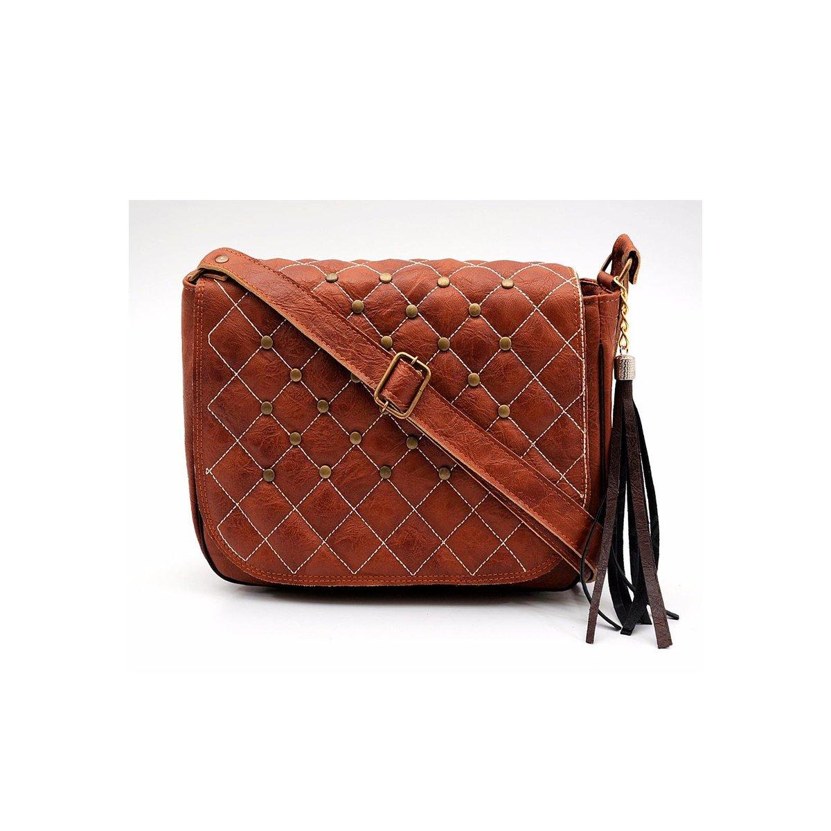 23525e240 Bolsa Transversal Matelassê com Franja Feminina - Compre Agora | Netshoes