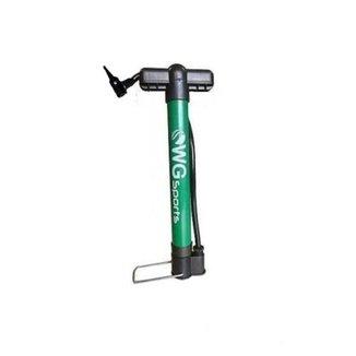 Bomba Bike Oficina Wg 300x29mm Alumínio C/ Cabo De Plástico