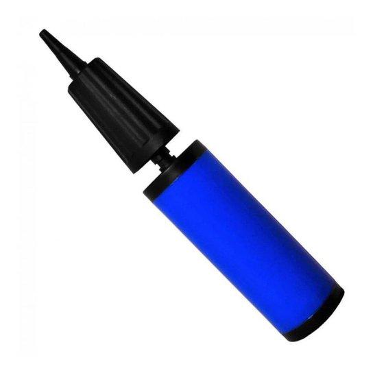 Bomba De Ar Para Bola De Pilates - Azul