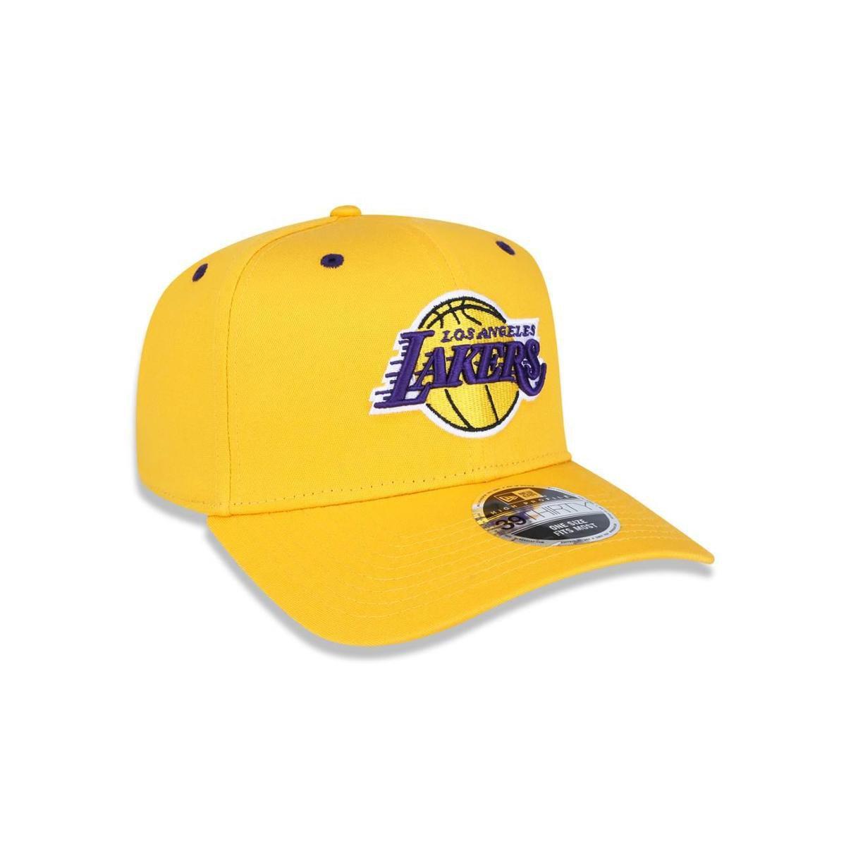 Boné 3930 Los Angeles Lakers NBA Aba Curva New Era - Compre Agora ... 25cc4d2da1d