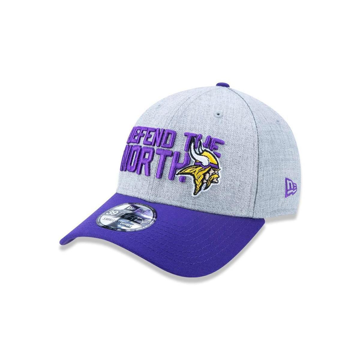 Boné 3930 Minnesota Vikings NFL Aba Curva New Era - Mescla Claro - Compre  Agora  369a09ac3dd