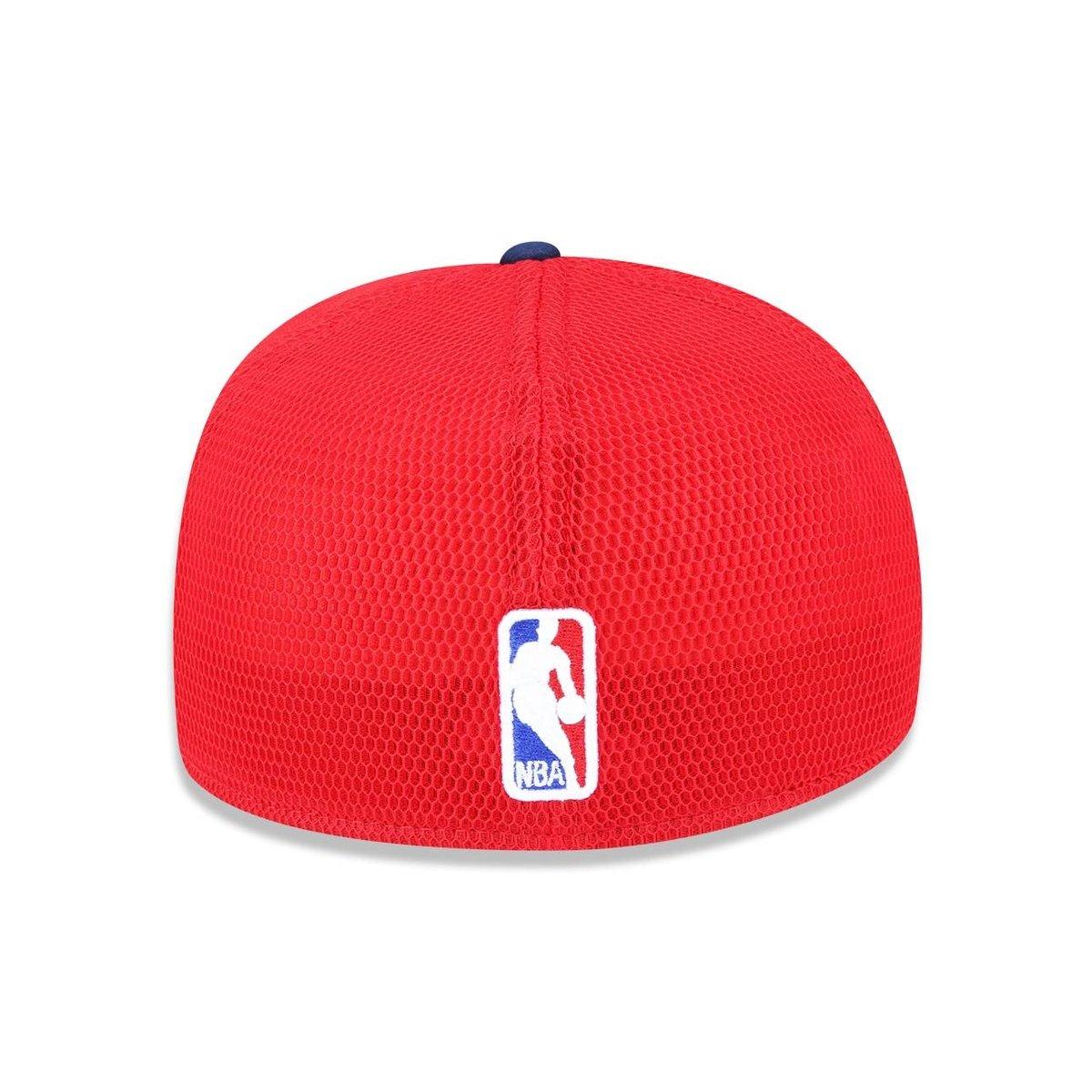 Bone 3930 New Era New Orleans Pelicans NBA Aba Curva - Marinho e ... 72886a6a216