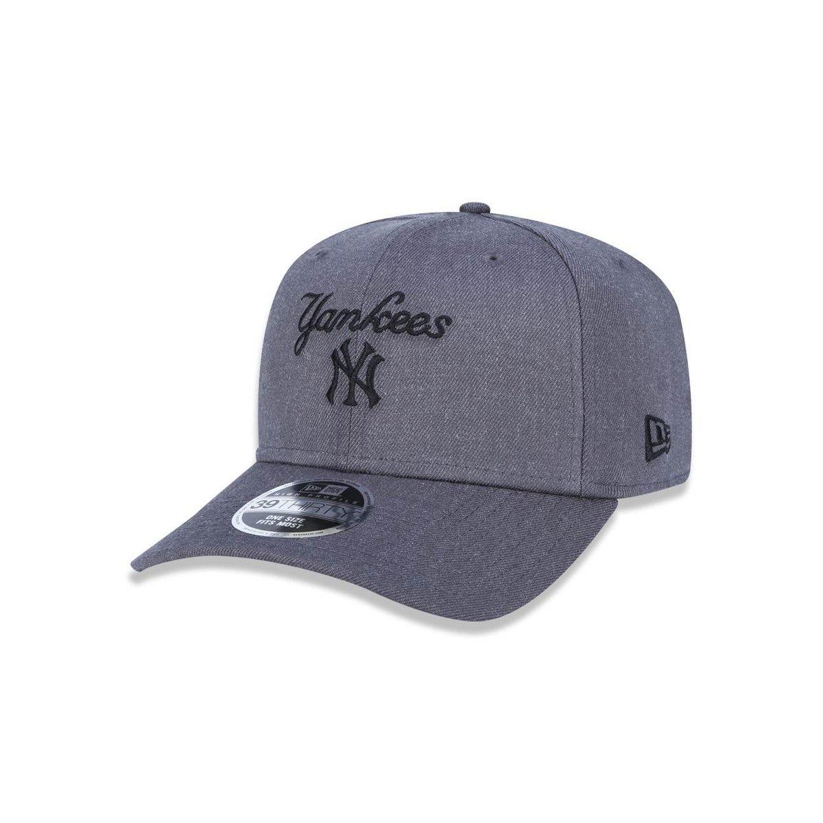 Boné 3930 New York Yankees MLB Aba Curva New Era - Compre Agora ... 98ecf4ed74d