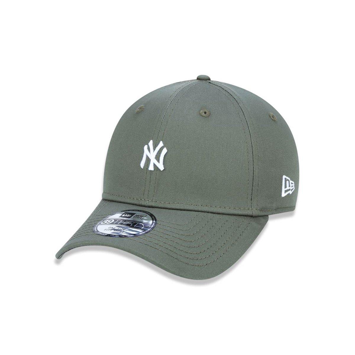 Boné 3930 New York Yankees MLB Aba Curva New Era - Compre Agora ... 37e32b7135e4e