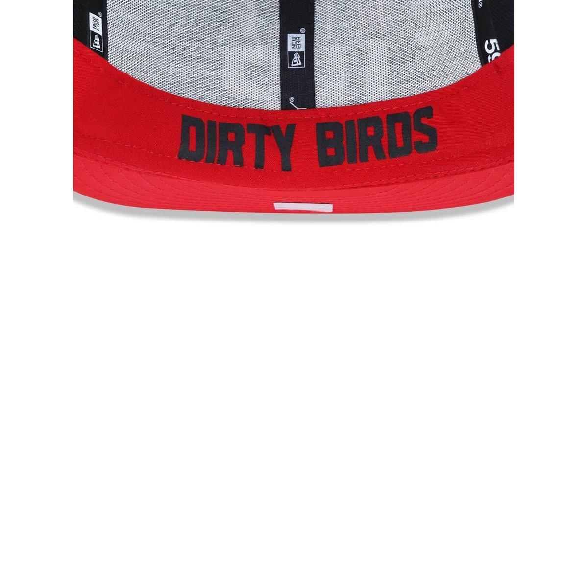 Boné 5950 Atlanta Falcons NFL Aba Reta New Era - Preto - Compre ... f624469158b