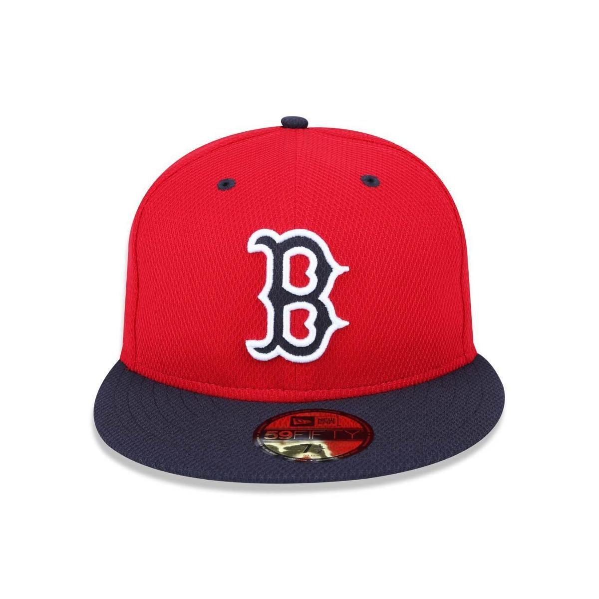 Boné 5950 Boston Red Sox MLB Aba Reta New Era - Compre Agora  154104af543