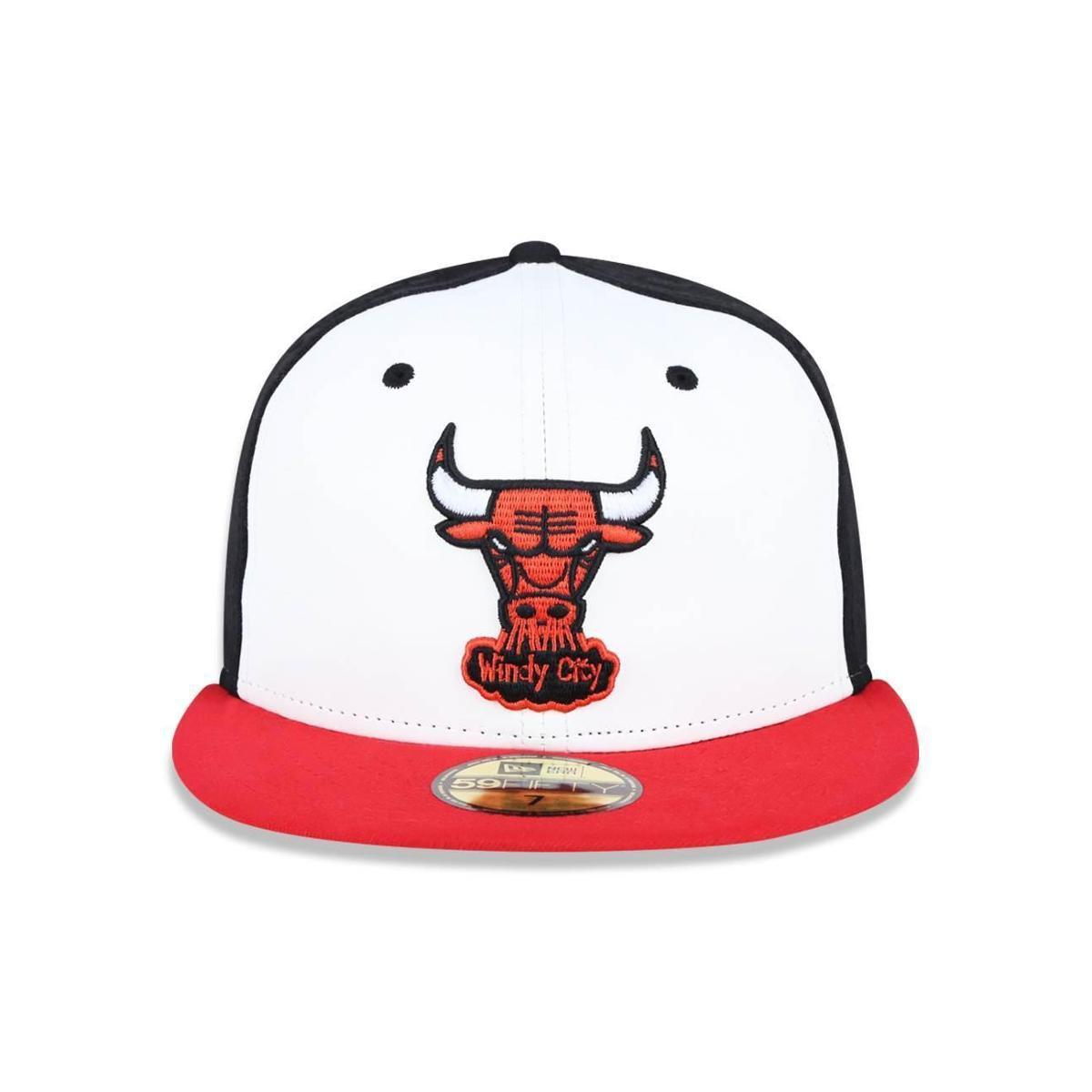 Bone 5950 Chicago Bulls NBA Aba Reta New Era - Compre Agora  2f629961c7d
