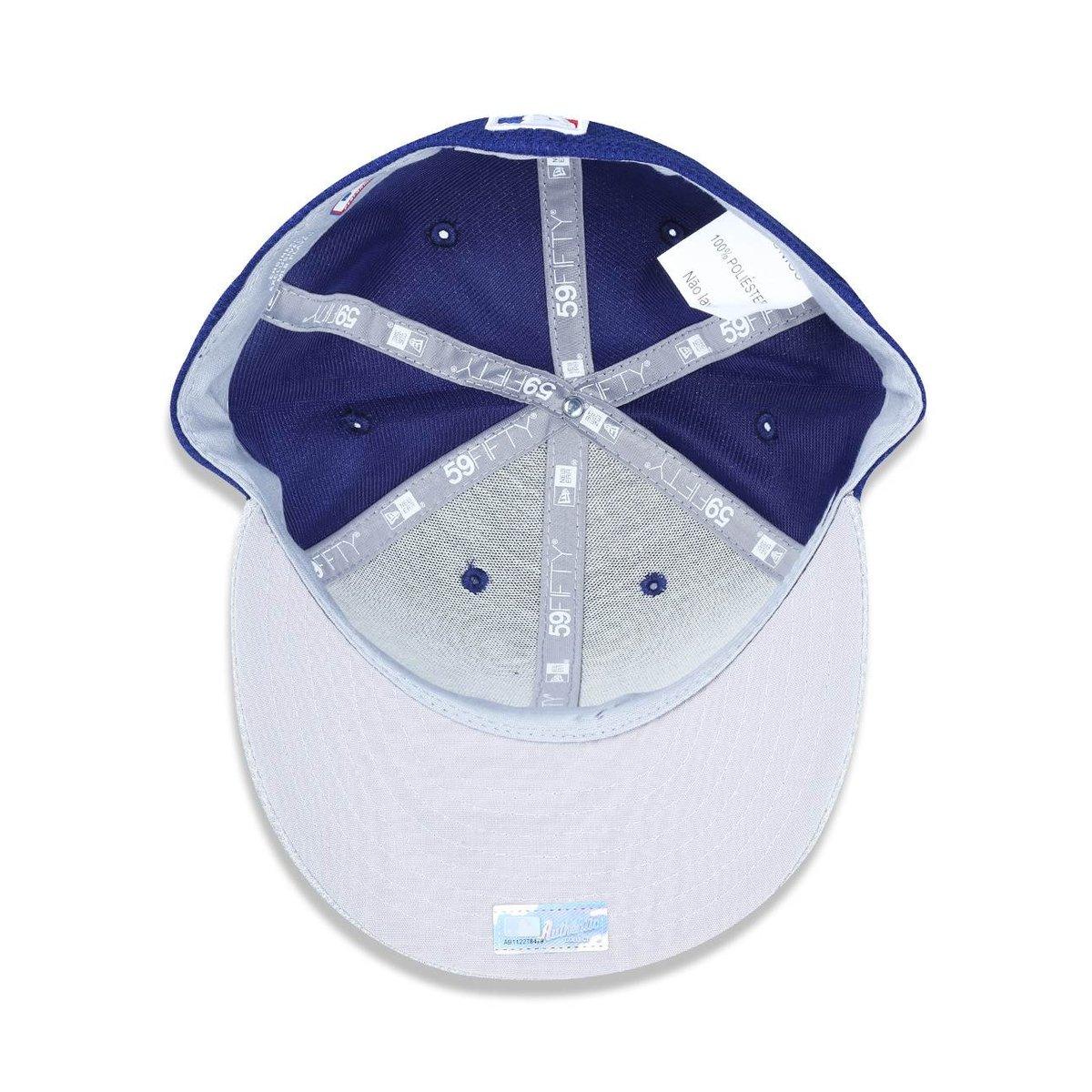 Boné 5950 Los Angeles Dodgers MLB Aba Reta New Era - Compre Agora ... a50932efe2d