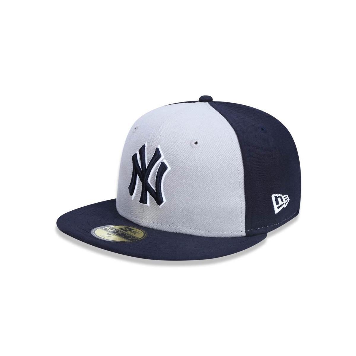 Boné 5950 New York Yankees MLB Aba Reta New Era - Compre Agora ... fae563e75d1
