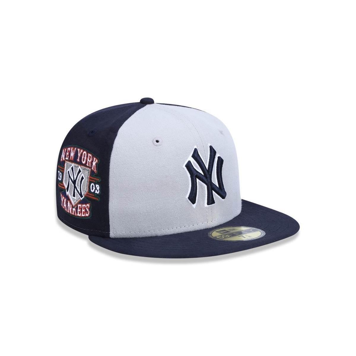 Boné 5950 New York Yankees MLB Aba Reta New Era - Compre Agora ... b63e6f6e344