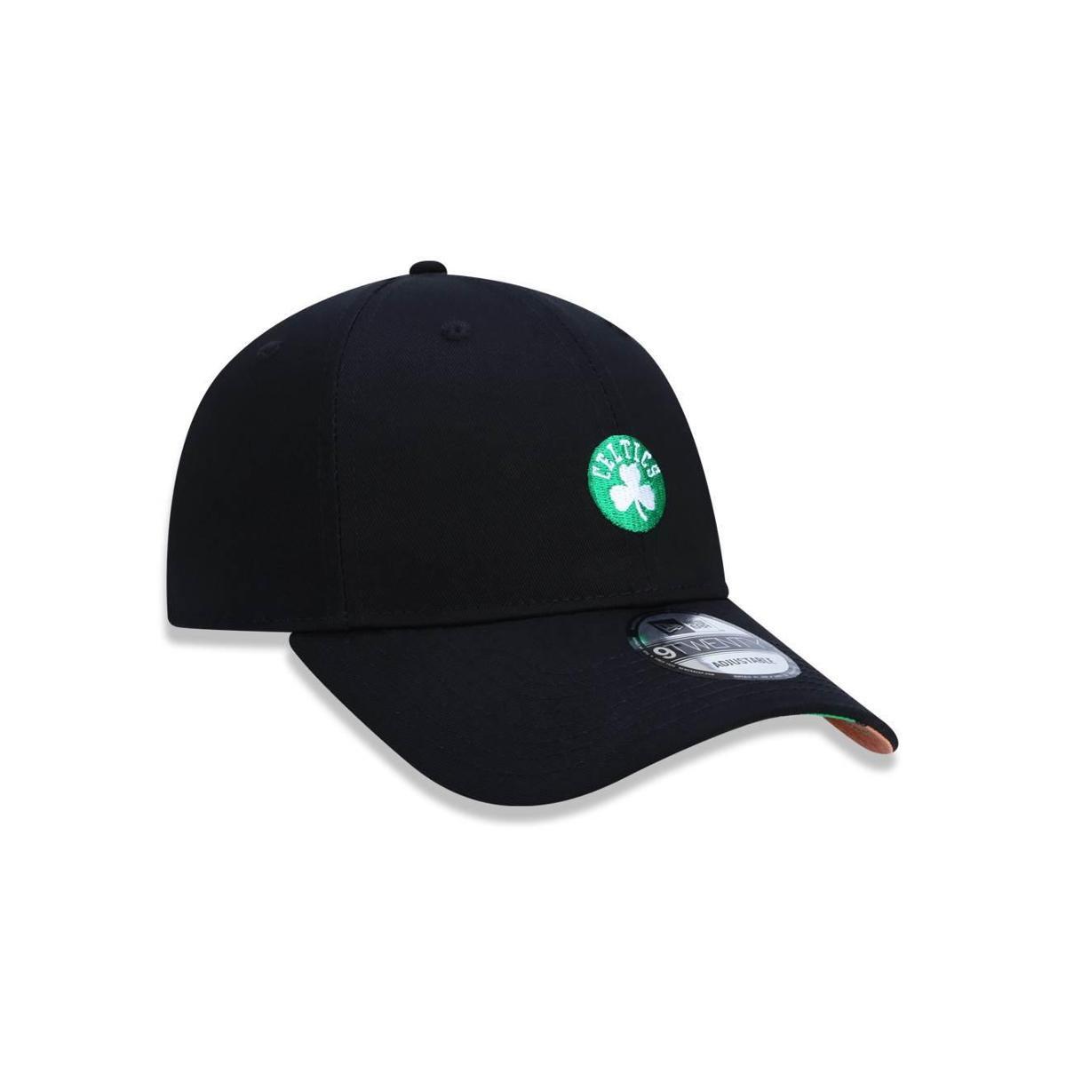 Boné 920 Boston Celtics NBA Aba Curva Strapback New Era - Preto ... c4c81ccc512