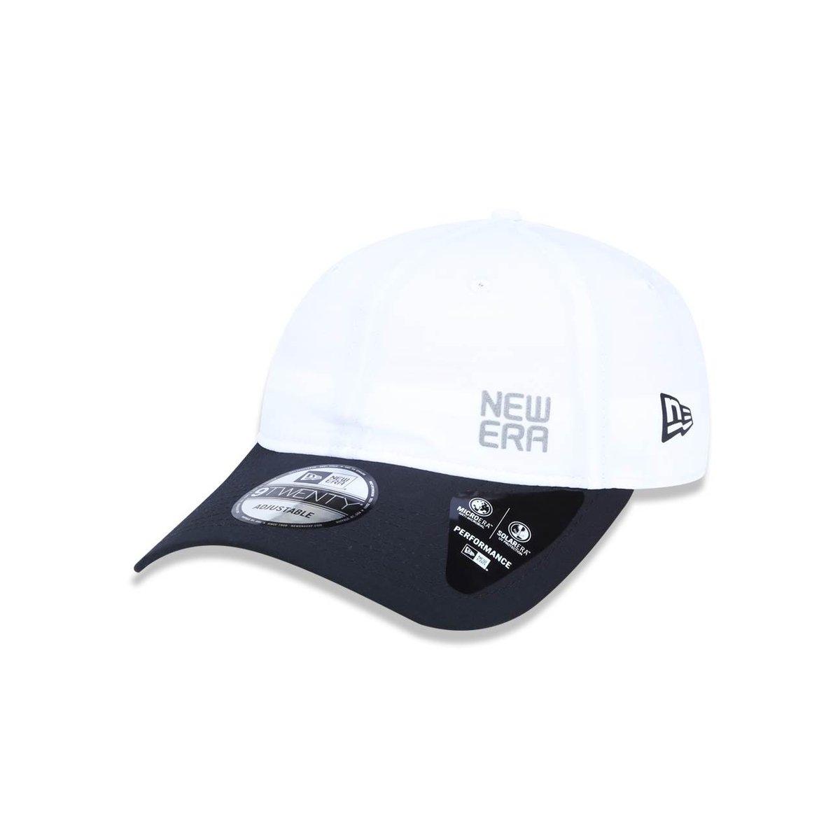 Boné 920 Branded Aba Curva Strapback New Era - Branco - Compre Agora ... b7581b99ae1