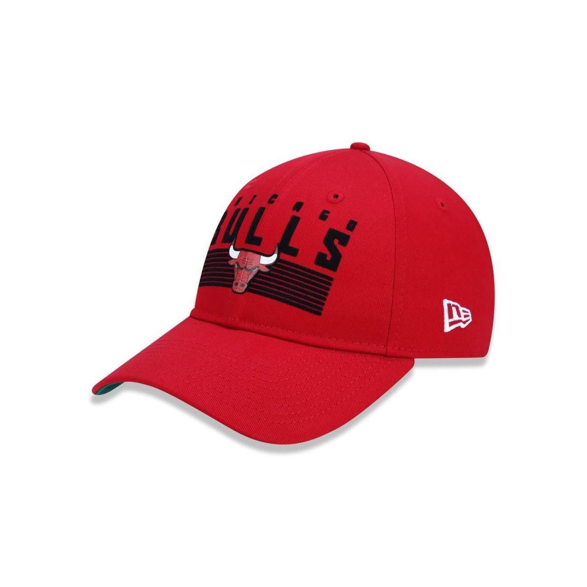 Boné 920 Chicago Bulls NBA Aba Curva Strapback New Era - Vermelho - Compre  Agora  371e905dccc