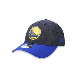 Boné 920 Golden State Warriors NBA Aba Curva Strapback New Era