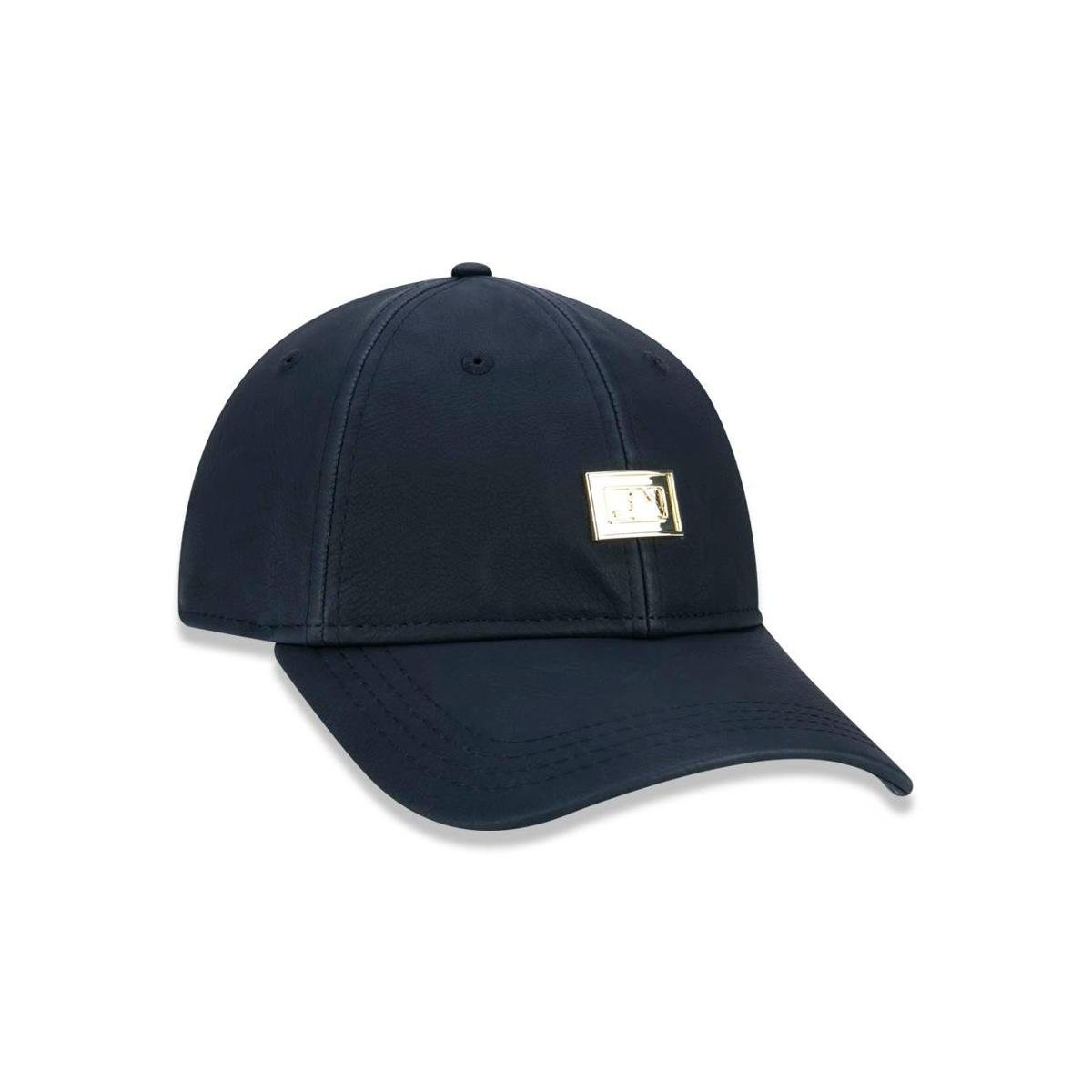 Boné 920 MLB Aba Curva New Era - Preto - Compre Agora  42954e63bb8