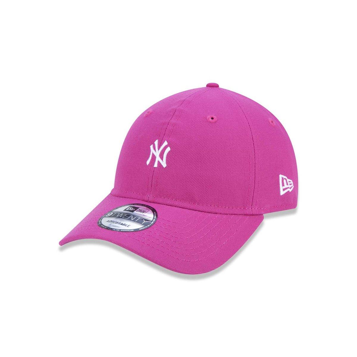 Boné 920 New York Yankees MLB Aba Curva Strapback New Era - Compre Agora  1512676e2ae