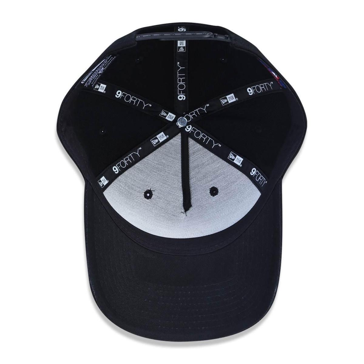 Boné 940 Chicago White Sox MLB Aba Curva New Era - Preto - Compre ... 3313144ef7e