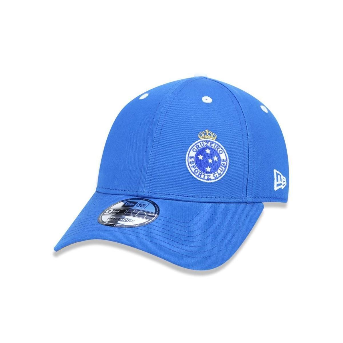 Bone 940 Cruzeiro Futebol Aba Curva Snapback Azul New Era - Azul ... 38838d56628