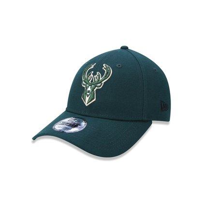 Boné 940 Milwaukee Bucks NBA Aba Curva Snapback New Era