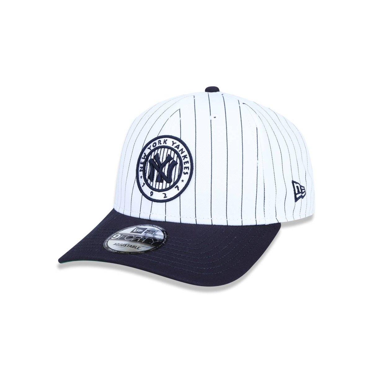 Boné 940 New York Yankees MLB Aba Curva Snapback New Era - Compre ... 4d6cf4f4454