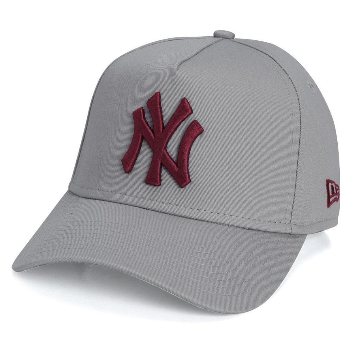 2f1ca08b22ce5 Bone 940 New York Yankees MLB New Era - Cinza - Compre Agora