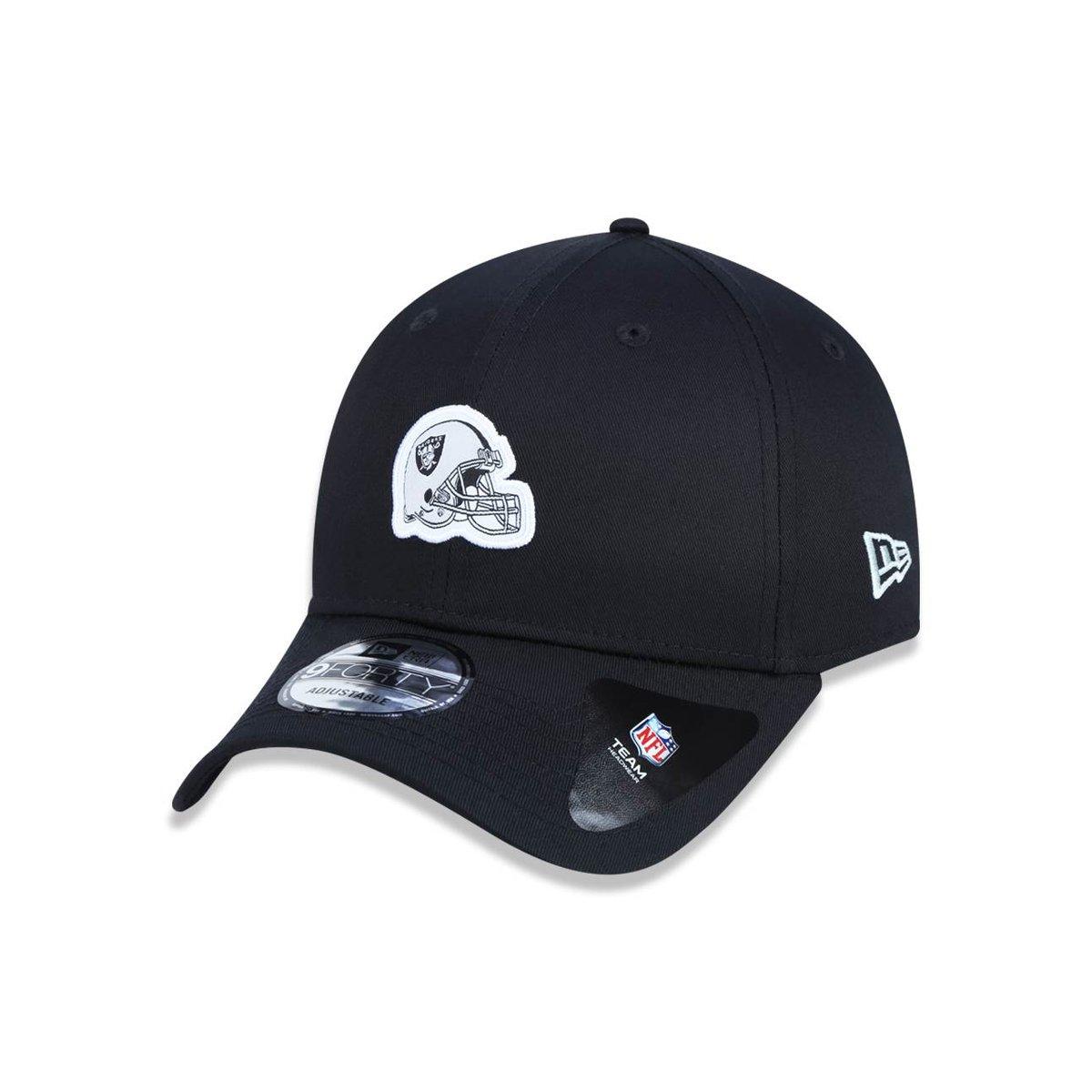 912aee40da55b Boné 940 Oakland Raiders NFL Aba Curva Snapback New Era - Compre Agora