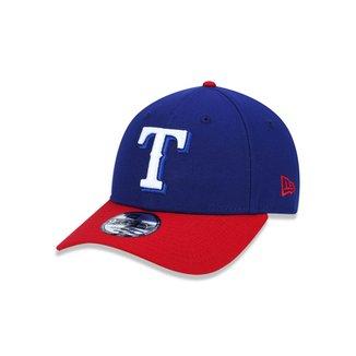 Boné 940 Texas Rangers MLB Aba Curva Snapback New Era