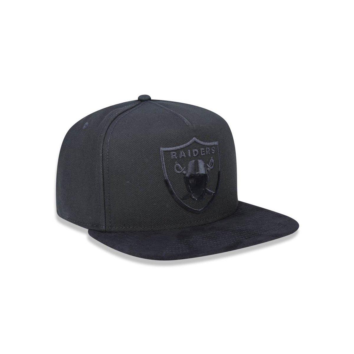... Boné 950 A-frame Oakland Raiders NFL Aba Reta Snapback New Era ... 00f363b0df2b1