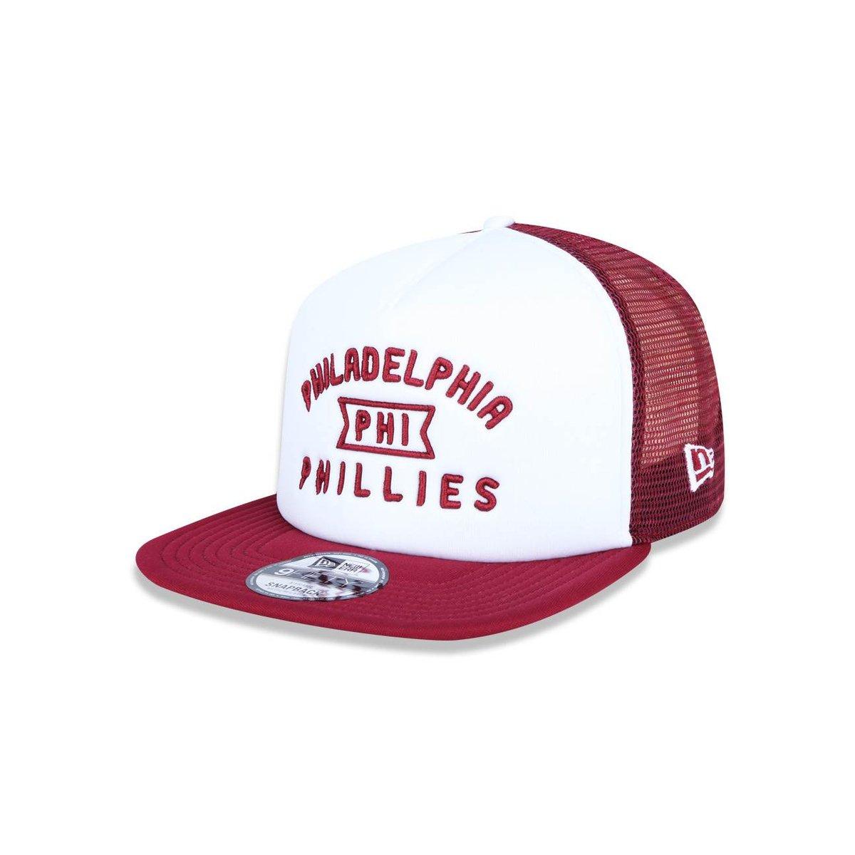 Boné 950 A-frame Philadelphia Phillies MLB Aba Reta Snapback New Era ... 8120f5014e1