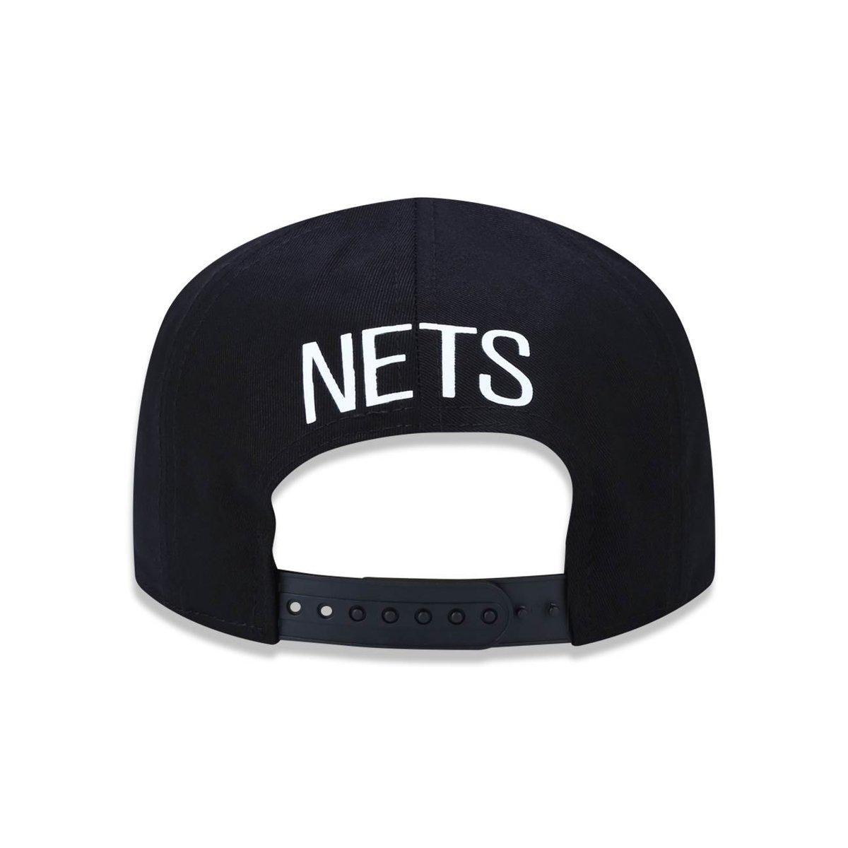 Boné 950 Brooklyn Nets NBA Aba Reta New Era - Compre Agora  255124c837d