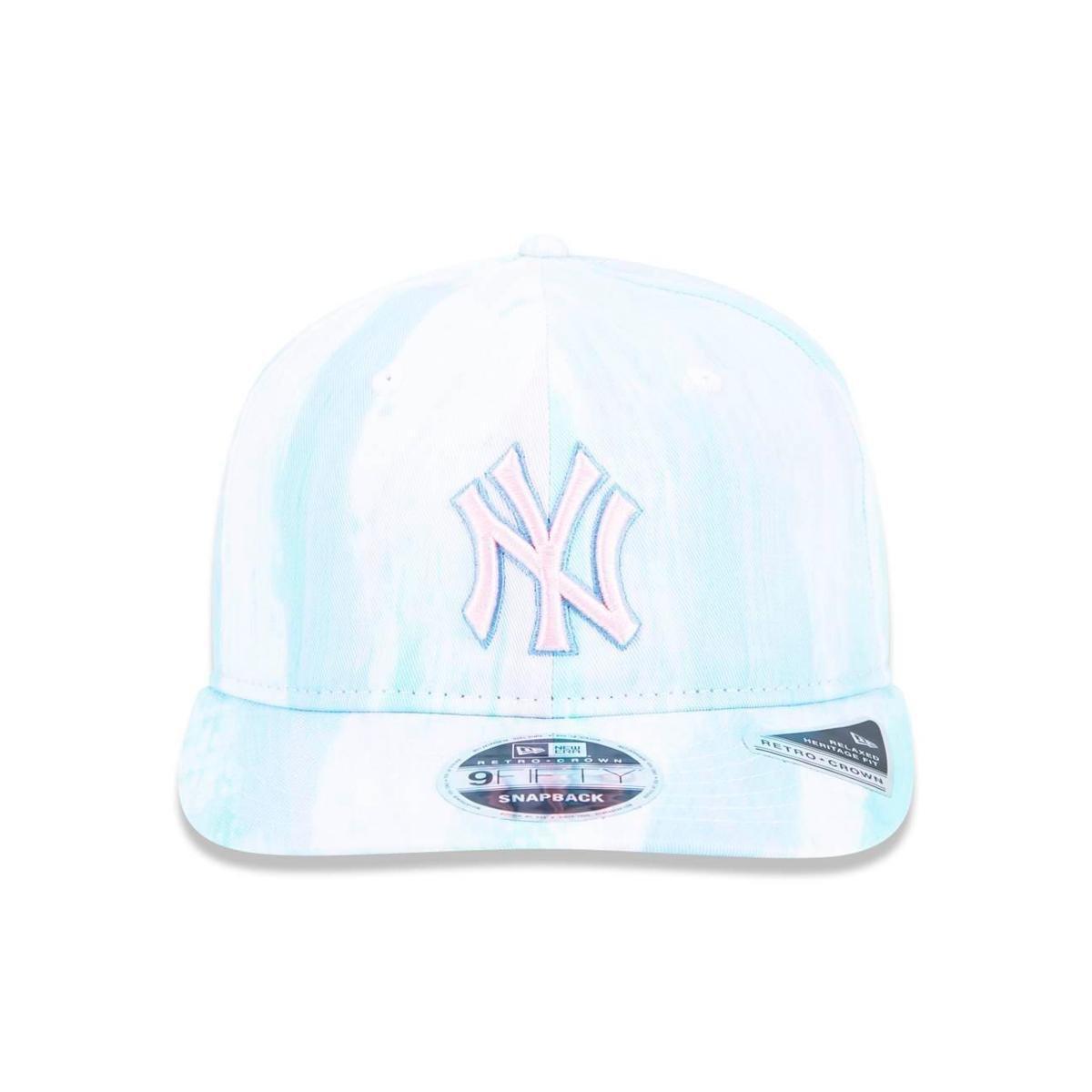 Boné 950 New York Yankees MLB Aba Reta New Era - Verde - Compre ... 171a36a35aa