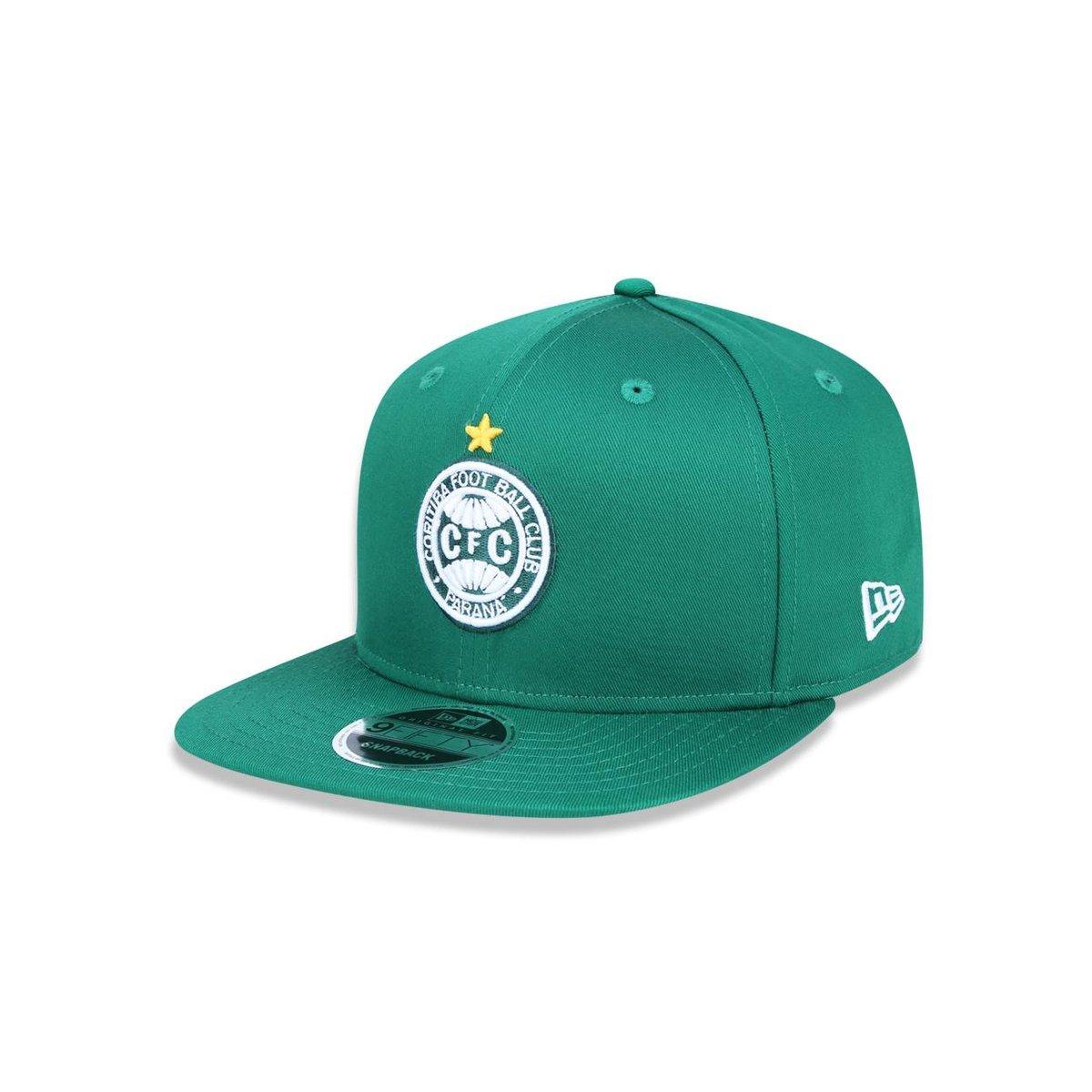 4caa6cff0 Boné 950 Original Fit Coritiba Futebol Aba Reta Snapback New Era - Verde -  Compre Agora