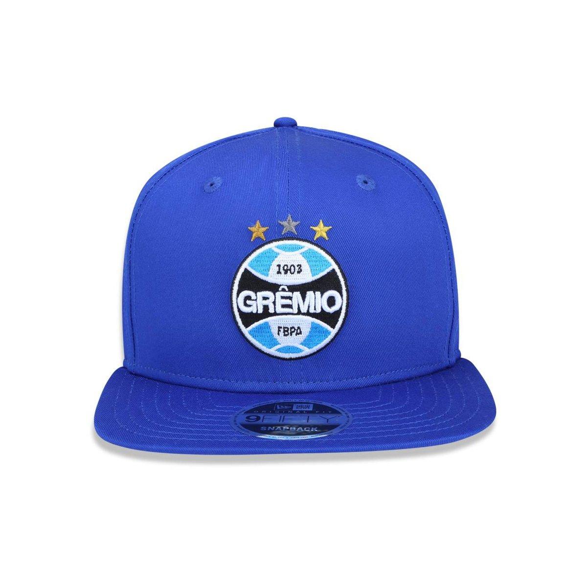 ... Boné 950 Original Fit Grêmio Futebol Aba Reta Snapback New Era ... 8945d54d775