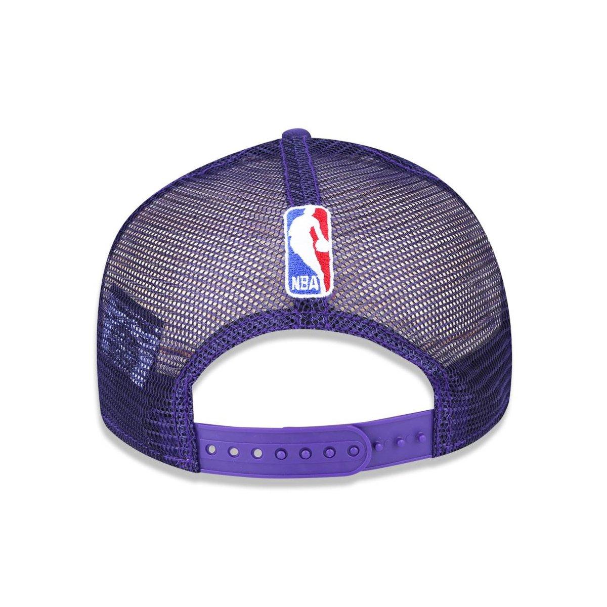 ... Boné 950 Original Fit Los Angeles Lakers NBA Aba Reta Snapback New Era  ... caaf26f4a98