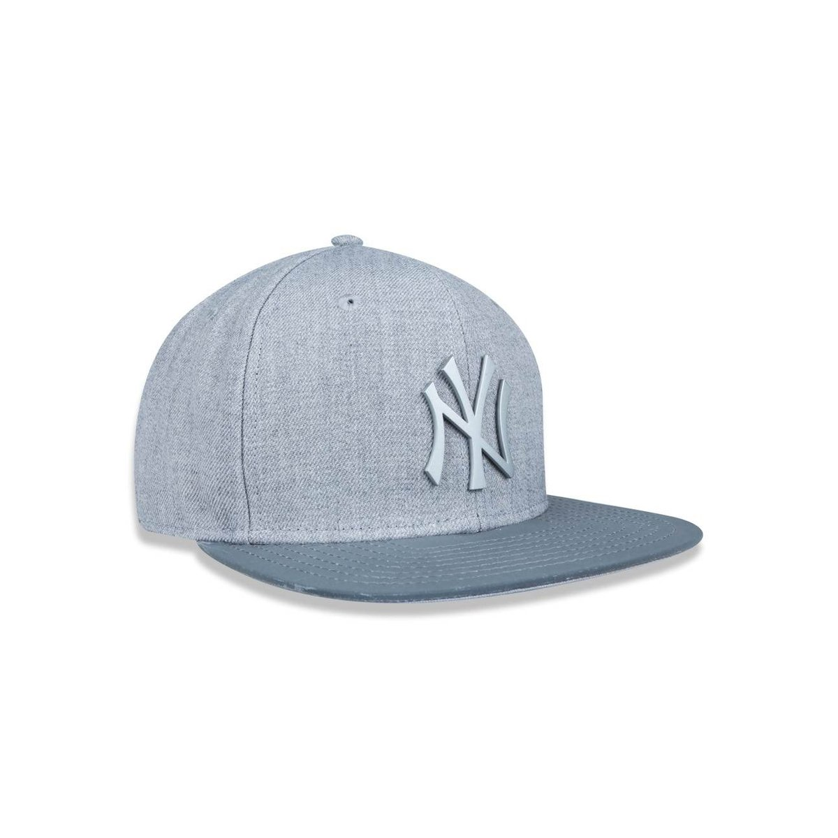 ... Boné 950 Original Fit New York Yankees MLB Aba Reta Snapback Mescla New  Era ... d7c114c95ef