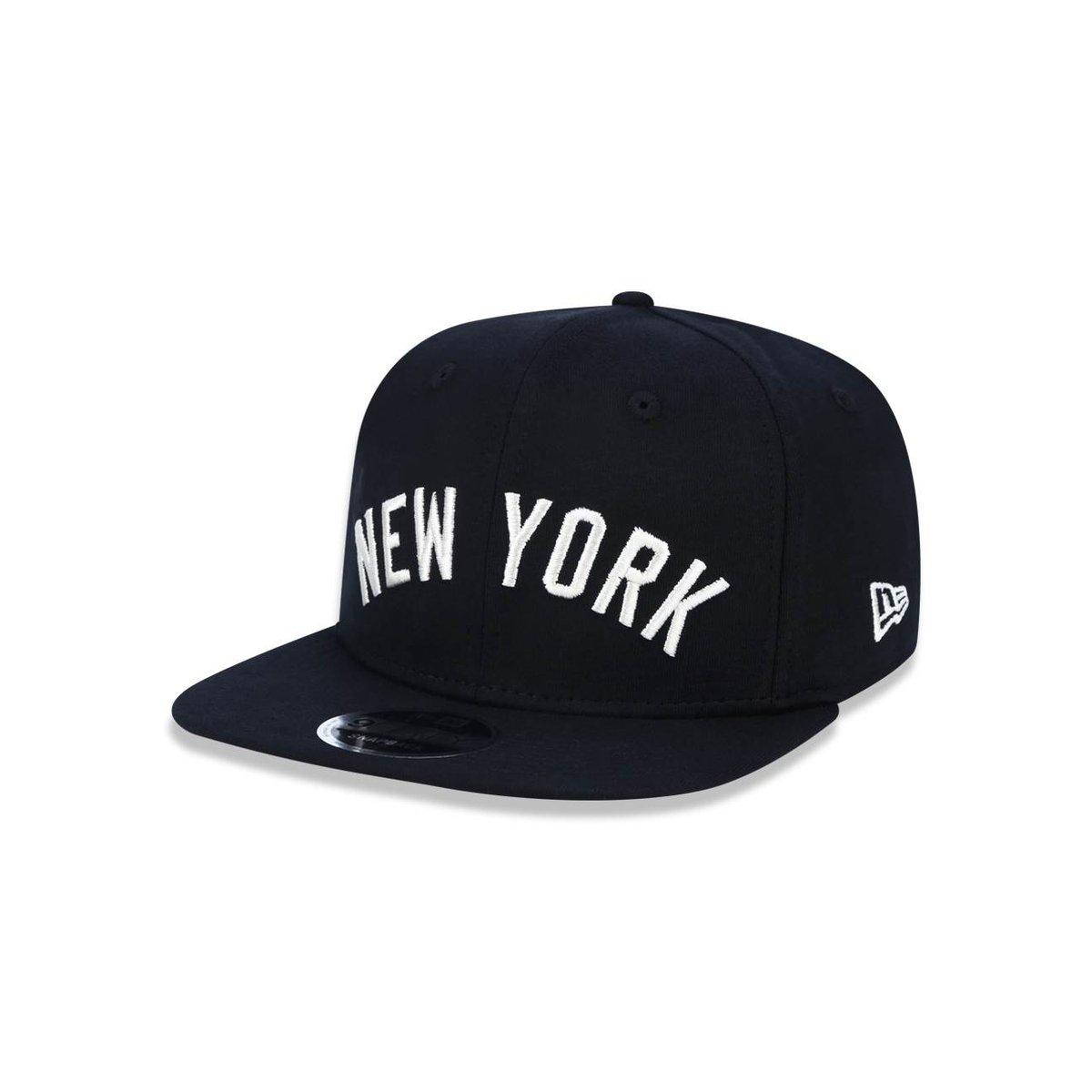 Boné 950 Original Fit New York Yankees MLB Aba Reta Snapback New Era -  Preto - Compre Agora  3c2b1a5fcc1