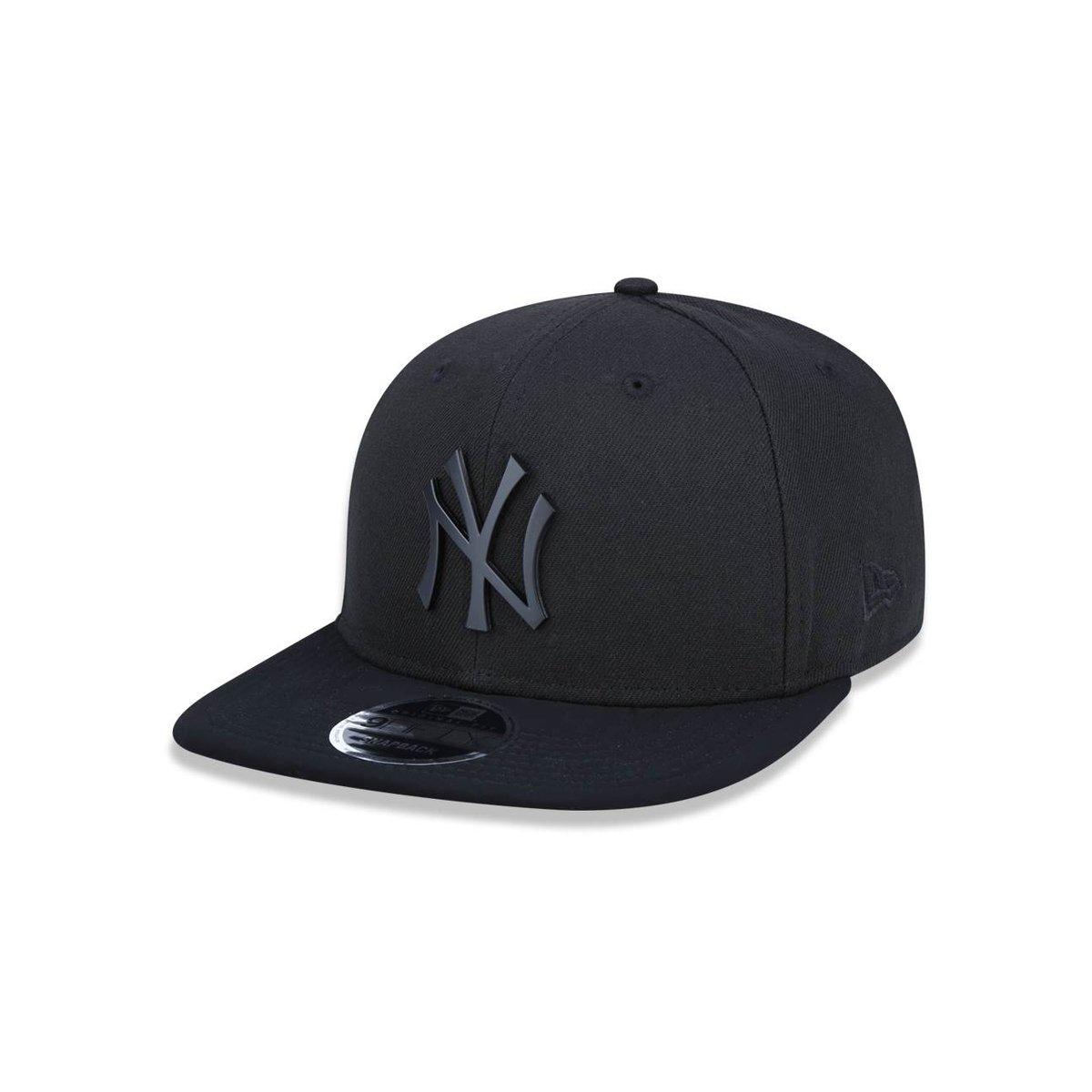Boné 950 Original Fit New York Yankees MLB Aba Reta Snapback New Era ... 7951f1adb5c