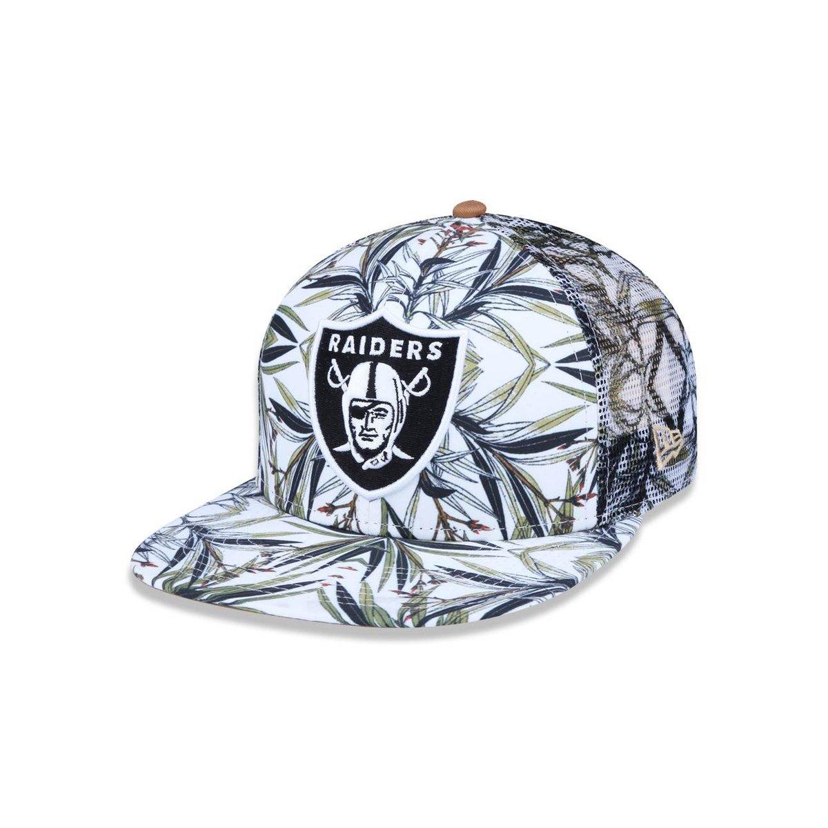 6857da98dec96 Boné 950 Original Fit Oakland Raiders NFL New Era - Branco e Verde - Compre  Agora
