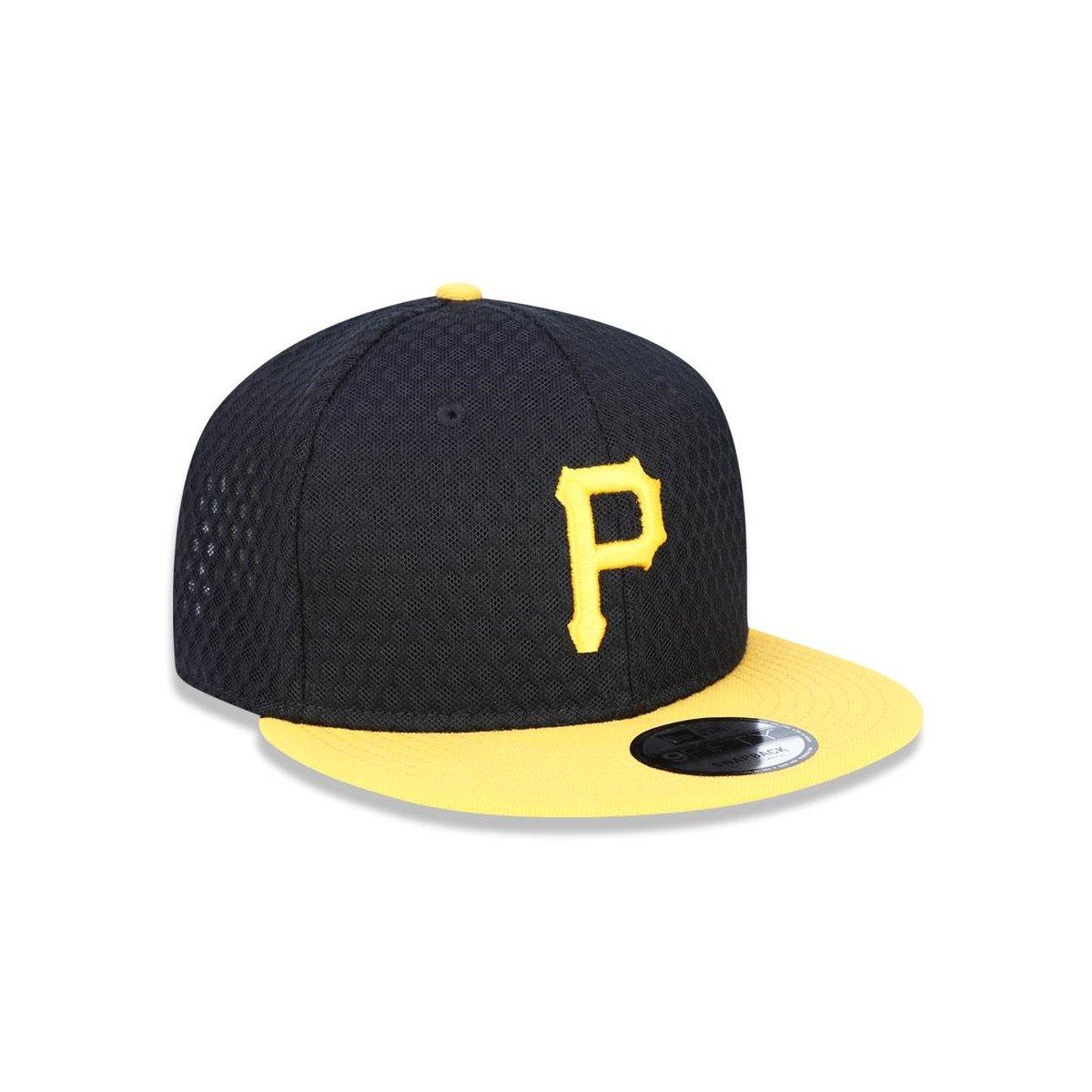 Boné 950 Pittsburgh Pirates MLB Aba Reta New Era - Compre Agora ... 1e21145f62d