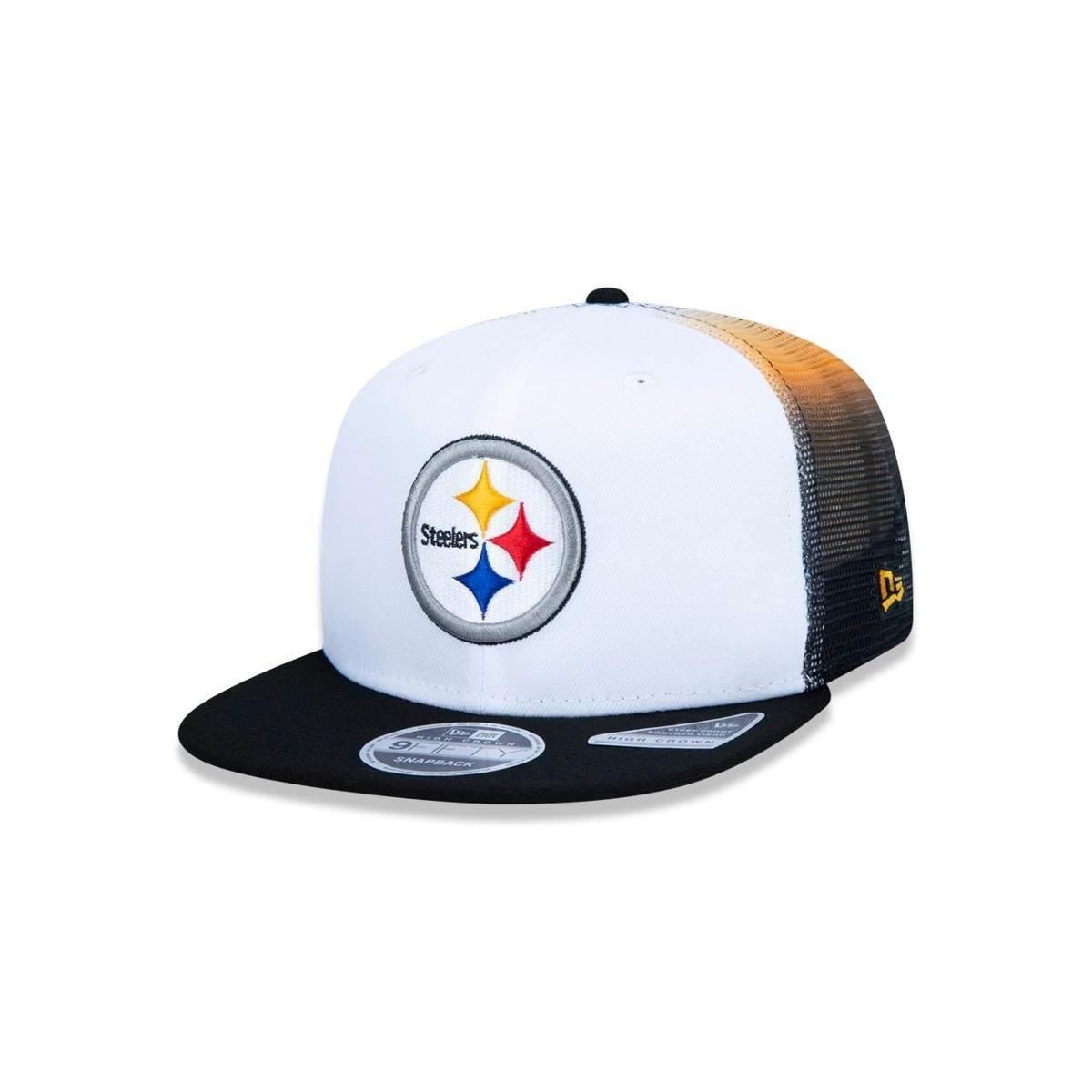 Boné 950 Pittsburgh Steelers NFL Aba Reta New Era - Compre Agora ... 873ae9dd766