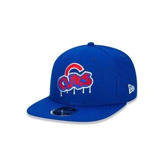 BONE 9FIFTY ORIGINAL FIT CHICAGO CUBS MLB MELTED ABA RETA SNAPBACK ROYAL NEW ERA
