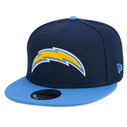 BONE 9FIFTY ORIGINAL FIT NFL LOS ANGELES CHARGERS ABA RETA SNAPBACK MARINHO NEW ERA
