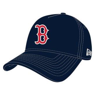 BONE 9FORTY A-FRAME SNAPBACK ABA CURVA BOSTON RED SOX TEAM COLOR TIME MARINHO NEW ERA