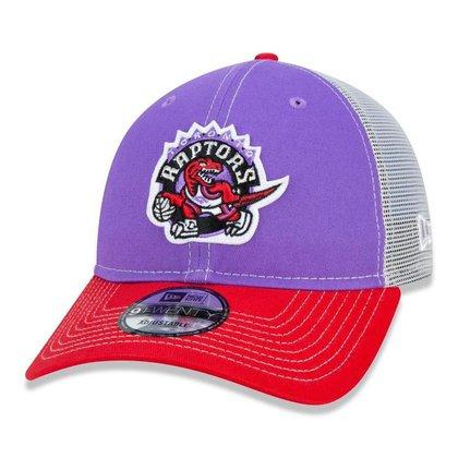 Boné 9Twenty Toronto Raptors Nba Aba Curva  New Era