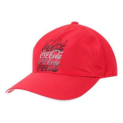Boné Aba Curva Coca-Cola Masculino