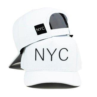 Boné Aba Curva NYC Ultra Six Snapback